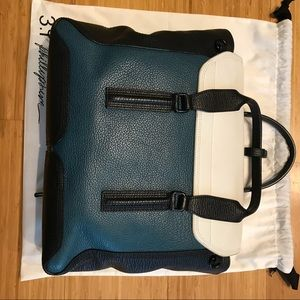 3.1 Phillip Lim Bags - 3.1 Phillip Lim Pashli Teal Colorblock Bag